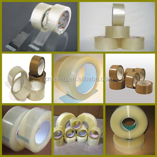 Colombia Tape - Clear Acrylic. 6 Rolls. 3 inches wide x 110 yards Length. 2.0 M Thickness