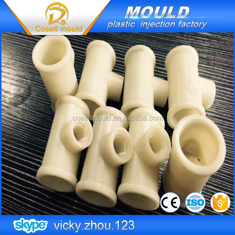water tube mould/ pvc ball valve /plastic pipe fitting moulding maker