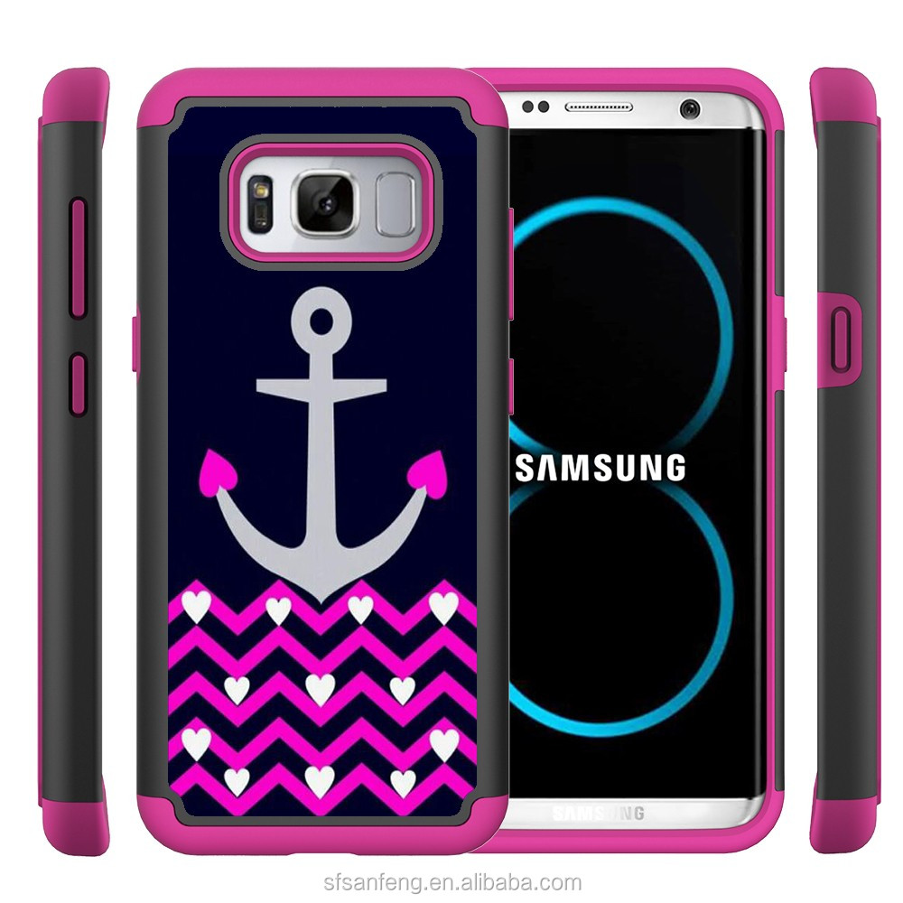 Painted Various Pattern Phone Hard Back Skin Case Cover for Samsung S8