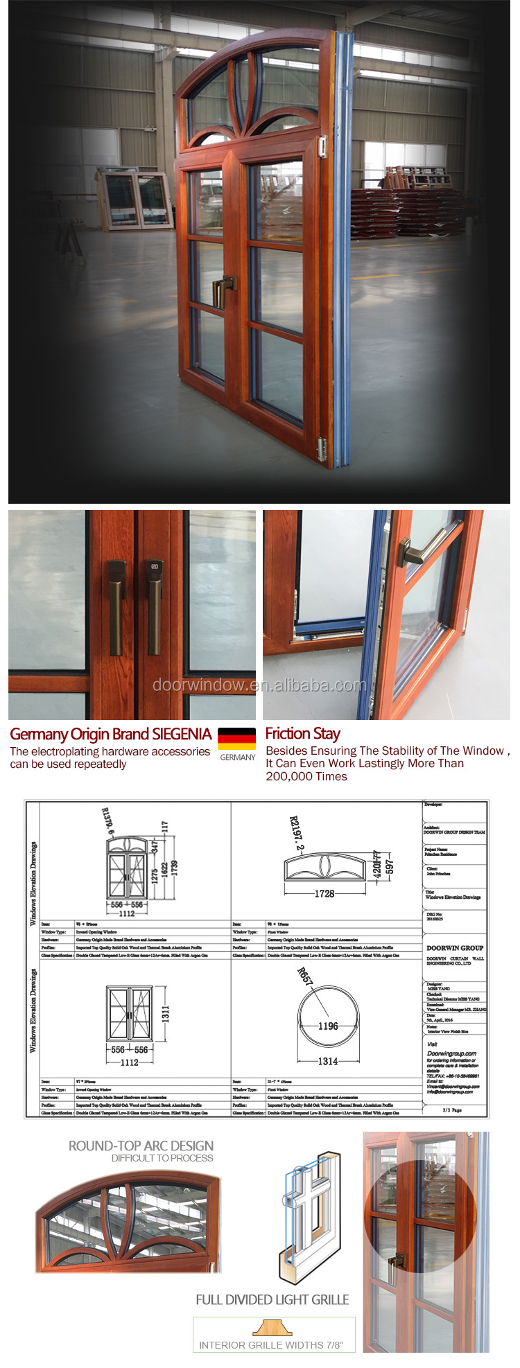Safety window grill design round that open molding