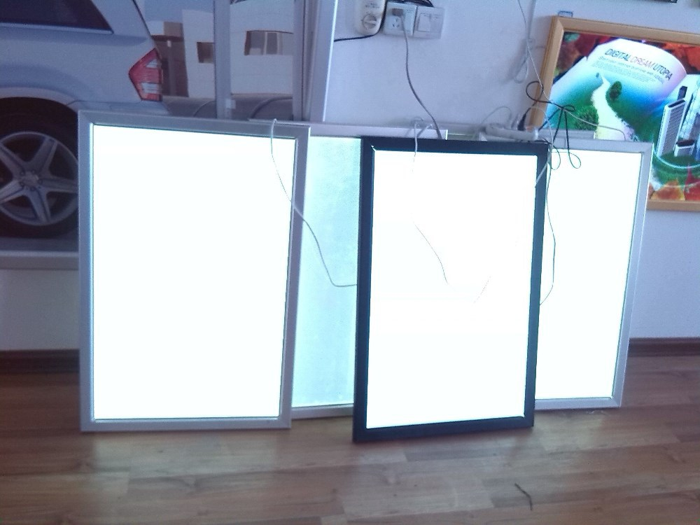 buy 400mmx600mm aluminum illuminated led menu tracing advertising slim led. Black Bedroom Furniture Sets. Home Design Ideas