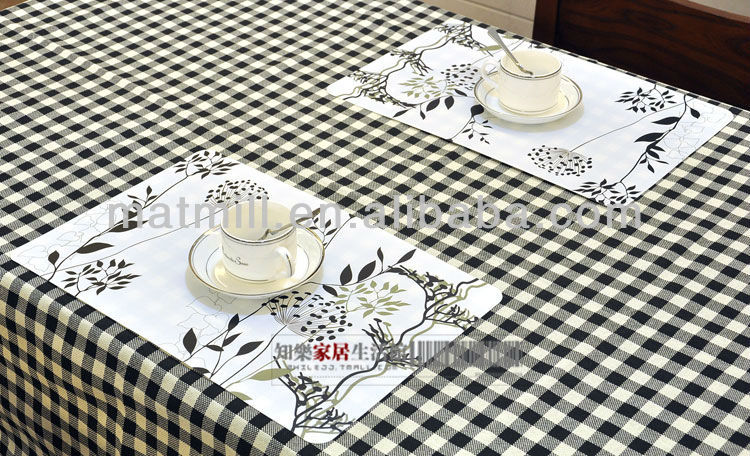 Table Placemats Upscale Placemat Table Mats Western Pad Placemats Kitchen With Interesting