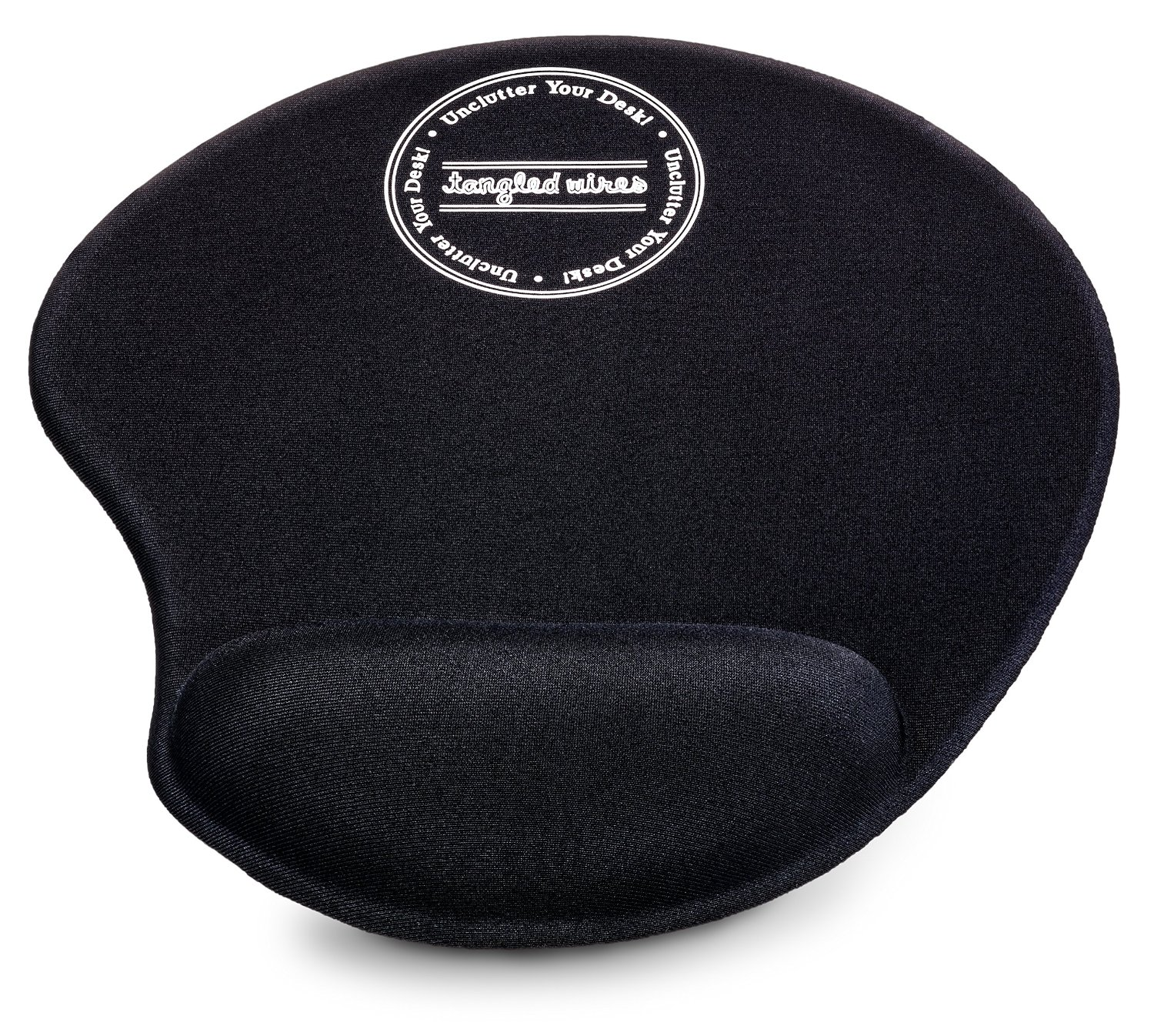 The Pad: Ergonomic Mousepad with Wrist Support - Protect Your Wrists and De-clutter Your Desk - Premium Mouse Pad with Wrist Rest - Latest Custom Non-slip Design - Free ebooks