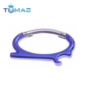 Lovely Shape Custom Logo Round Carabiner Clip Buy Carabiner Round