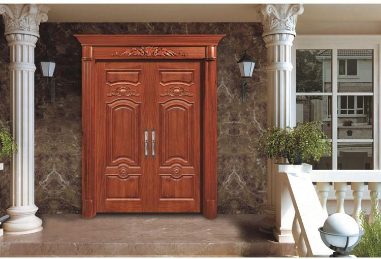 Water Proof Solid Wood 24 X 80 Exterior Door Picture - Buy 24 X 80 ...