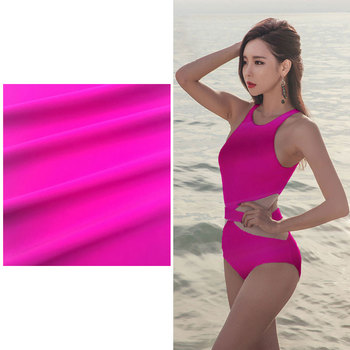 3d Lycra Fabric Polyester Nylon Spandex Stretch Textile Fabric For Swimwear
