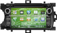 HD touch screen car gps system car radio dvd for Toyota yaris 2012