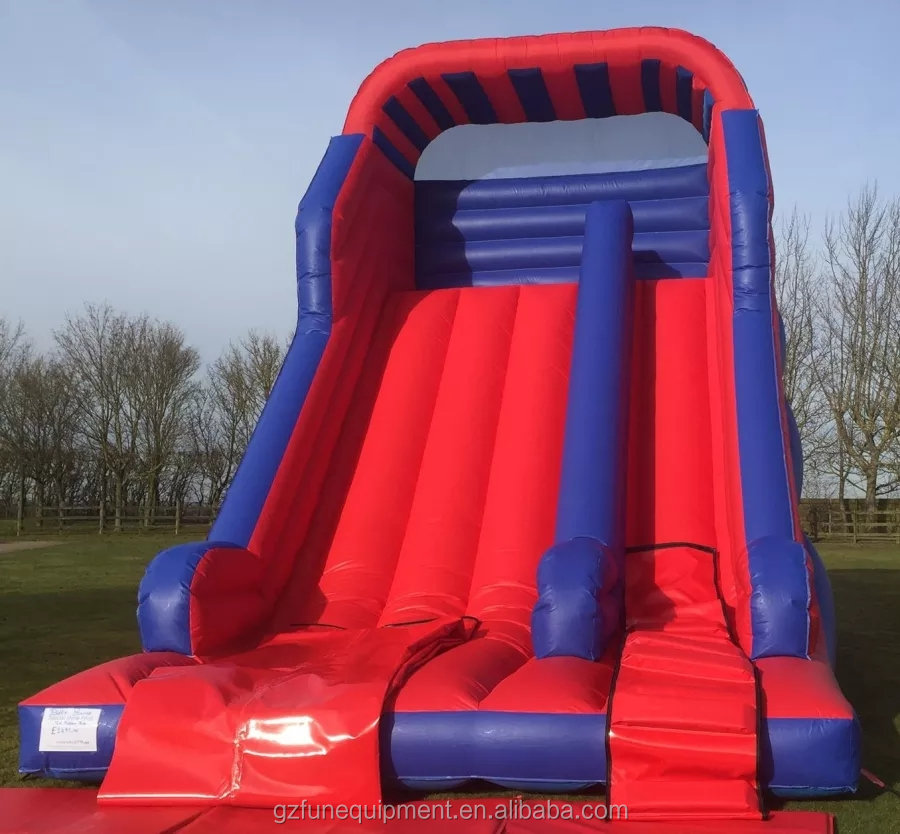 Commercial inflatable slide giant inflatable dry slide for adult