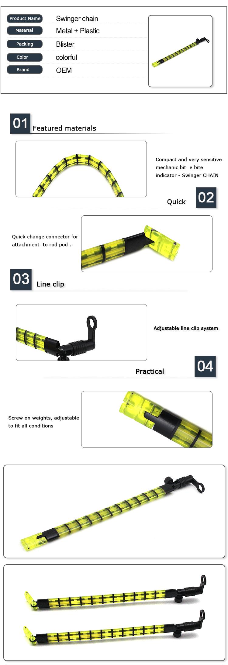 Indicator Fishing Bite Chain Hanger  for Bite Alarm