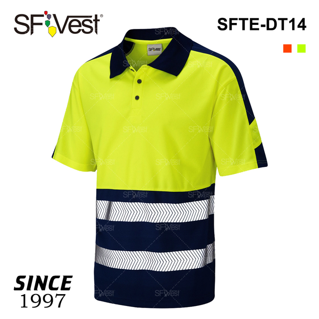 4edff23c China polo shirt men cheap. products below. Hi Vis Safety Reflective PPE  Workwear Clothing Two Color Wholesale Cheap Short Sleeve Polo T Shirt