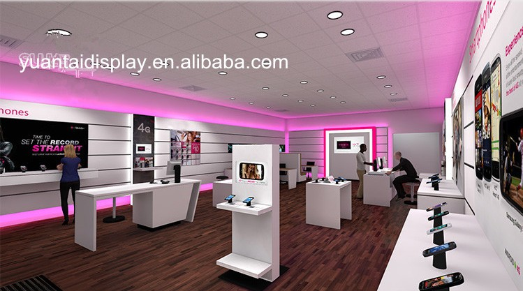 high end mobile phone shop interior design/bakery mobile shop ...