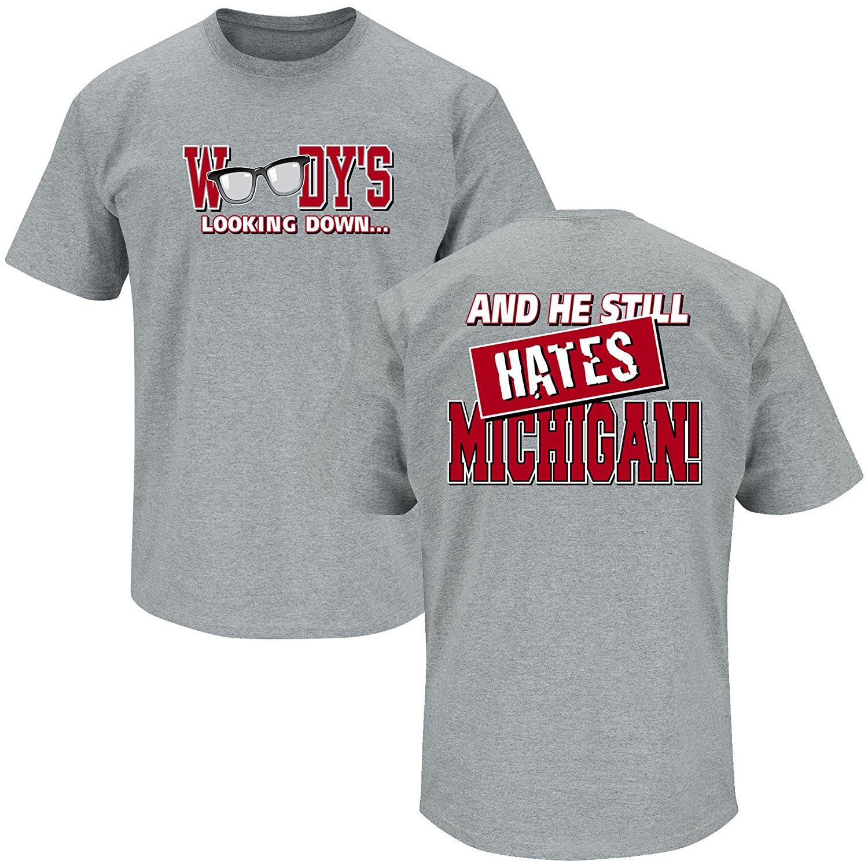 Michigan hate ohio state tshirt mens large funny