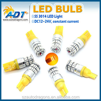 Best Price Auto 194 W5w T10 3014 Smd Led Bulbs,12v 36leds Amber ...