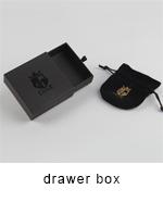 Custom design schaumstoffeinlage hohe qualität drucken handwerk schmuck verpackung jewel verpackung uhr schmuck papier box für schmuck
