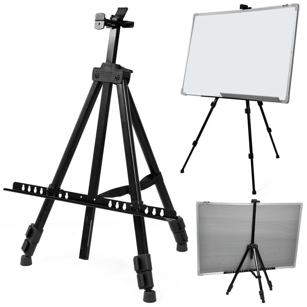 Professional Lightweight Aluminum Tripod Display Stand Artist Easel For Outdoor Adults &Kids Drawing Painting