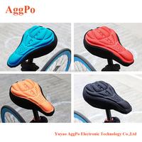 Mountain Bike Seat Saddle Cover 3d Memory Sponge Saddle No-slide Air-permeable Bike Seat Pad,Bicycle Saddle Cushion 10