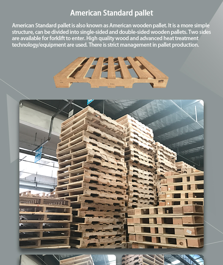 Angelic durable general wooden pallets/American market wooden pallets