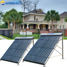 Sun power Pressured good quality 18tube solar collector