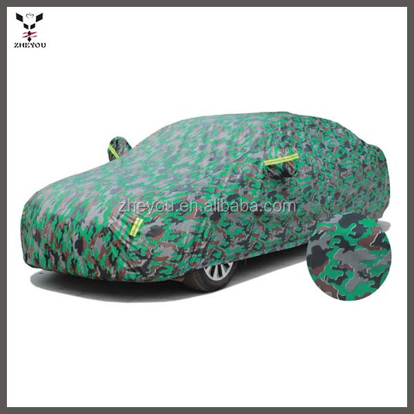 Camouflage oxford zon auto cover indoor