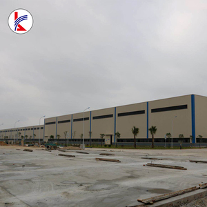 Cheap prefab steel structure house / light steel frame warehouse/workshop with H beam