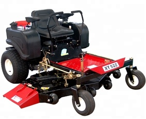 XD 52-inch (132cm) Ride on mower Briggs & Stratton- Garden machinewith roll bar and sunshade grass mower