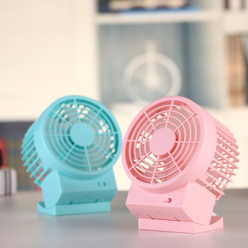 Air Cooling Dual Motor Electric Fan Dual Blade Standing Desktop Fan With Strong Wind