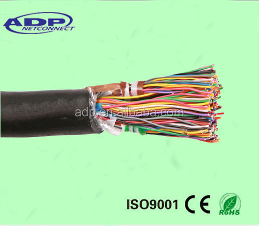 100-pair cat5 utp cable , telephone armoured cable, outdoor telephone cable