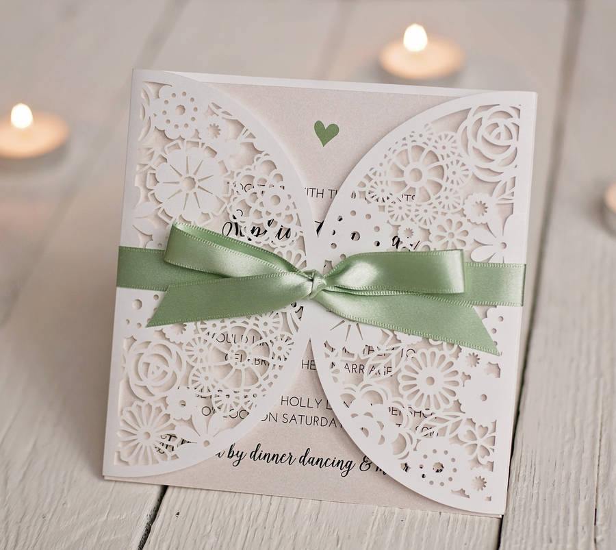 Wedding Invitation With Ribbon Supplieranufacturers At Alibaba