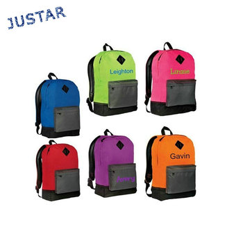 e8fcadb2a3d Design Your Own Name Kids Custom Personalized Cool School Backpack Bag for  Teenagers