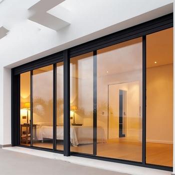 Glas Schuifdeur Prijs.Populaire Goedkope Prijs Hout Kleur Aluminium Schuifdeur Met Dubbele Of Driedubbele Lage E Glas Voor Residentiele En Commerciele Building Buy