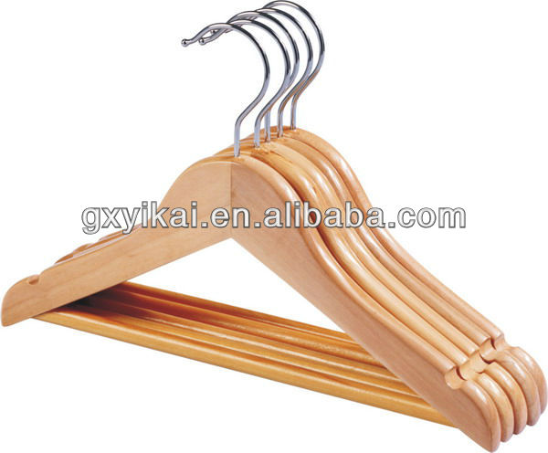 YIKAI wooden kids hanger wholesale