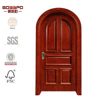 Villa puerta principal talla madera arco dise o de la for Arcos de madera para puertas