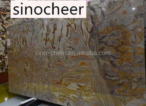 Picasso Onyx Marble Stone Slab for tv background wall,red vein onyx