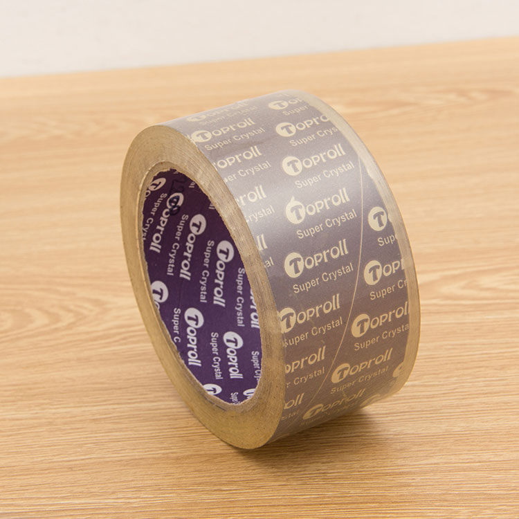 Raw Material Color Transparent Bopp Tape for Parcel Packaging