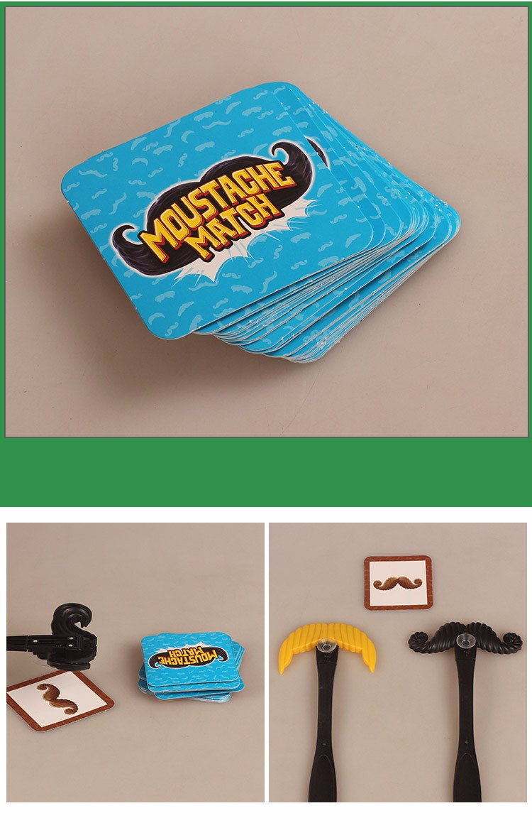 Moustache Smash Classic Family Games Party Supply Award-Winning Board Game