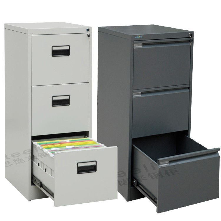 Office Furniture Dubai 3 Drawer Metal File Cabinet Steel File Cabinet