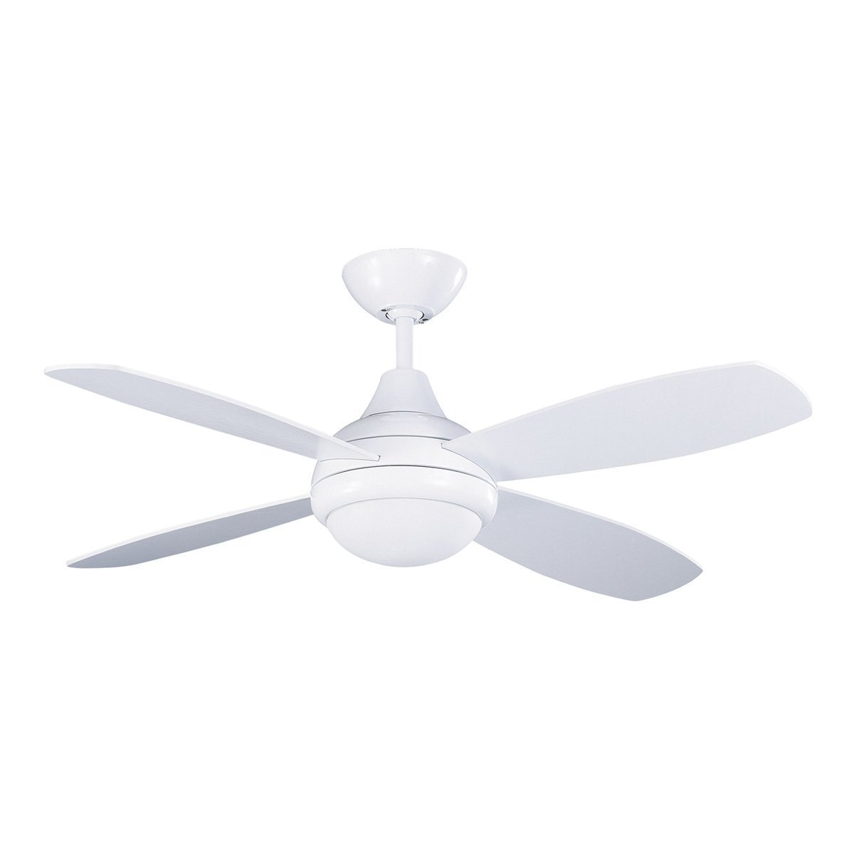 Get Ations Kendal Lighting Ac10842 Wh Aviator 42 Inch 4 Blade 1 Light Ceiling Fan