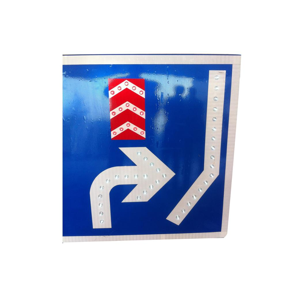Power commercial grade solar panels led arrow sign traffic road signs and meanings arrow traffic signs