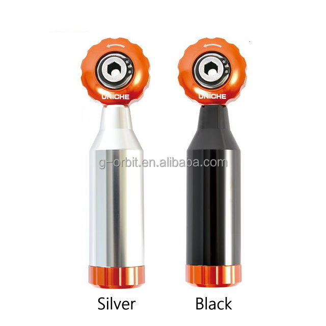 Multi-function Silver Mini Repair Bicycle Ratchet Stepless <strong>Tool</strong> (free shipping)