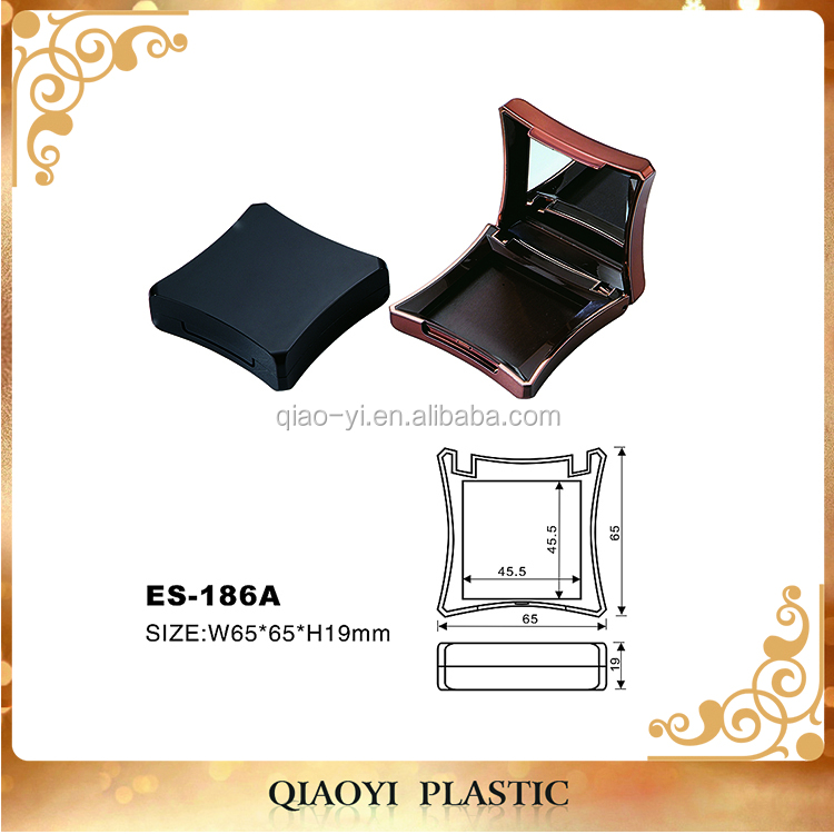Custom private label empty cosmetics eyeshadow palettes