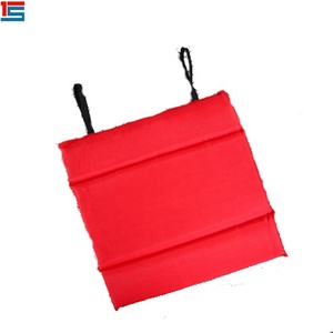 Red double sided logo printed any size high quality seat cushion