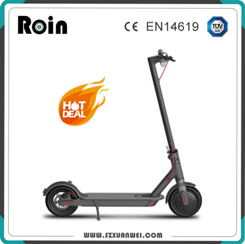 New model fashionable xiaomi 350w electric scooter 2018
