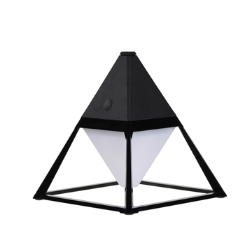 best selling pyramid shape desktop usb table lamp with LED