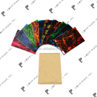 Liquid Image exclusive wtp film& hydrografik activator spray A3 size film kit flame pattern