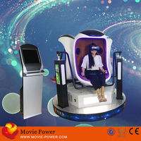 Movie Power 9d vr with play game of car racing game shooting simulator 9d egg vr