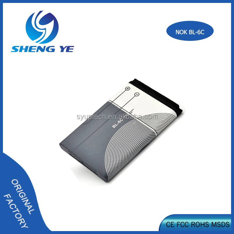 OEM For Nokia 2115i 2865i 6015i 6016i 6019i 6165i Cell Phone Replacement Battery Model BL-6C