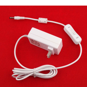 EU plug with ON/OFF switch 36W 12V3A AC DC power adapter with KC certification