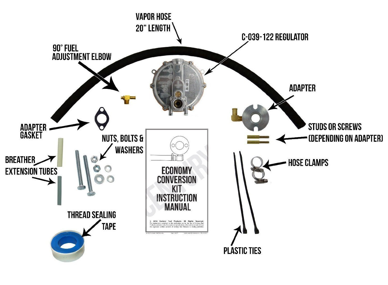 Powermate PM0105007 Natural Gas / Propane Conversion Kit