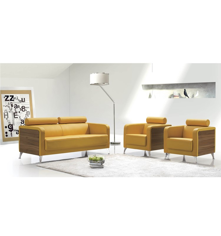 Latest Modern Leather Sofa Design Low Price Set