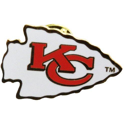 Get Quotations · NFL Kansas City Chiefs Logo Pin b95fb3e0e